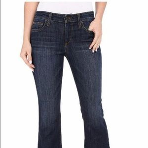 Joes jeans the Olivia mid rise flare crop jeans 27